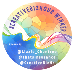 CreativeBizHour Winners badge