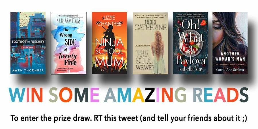 WIN ONE OF SIX SENSATIONAL BOOKS!